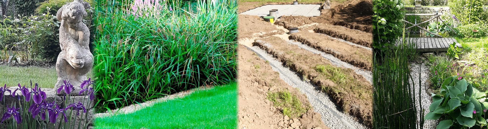 Bureau d'étude, ingénierie, sols et jardins assainissement avec fosses septiques