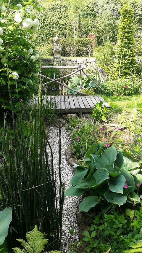 Lorient paysagiste parcs jardins cr ation - Jardin paysager exemple ...